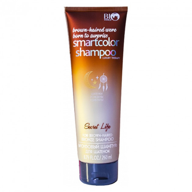 Бронзовый шампунь для шатенок 260 мл Bio World Secret Life Bronze Shampoo