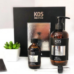 Экстраординарный комплекс для роста и придания плотности волосам.