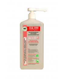 Дезинфицирующее средство для обработки рук и кожи АХД 2000 экспресс с дозатором 1000 мл, Lysoform