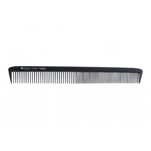 Расческа карбоновая гипоаллергенная 21,1 см (05080), Hairway