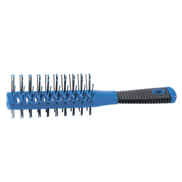 Расческа туннельная двухсторонняя синяя 08001-04, Hairway