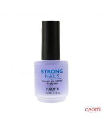 "Средство по уходу за ногтями ""Крепкие ногти"" 15 мл, Naomi"