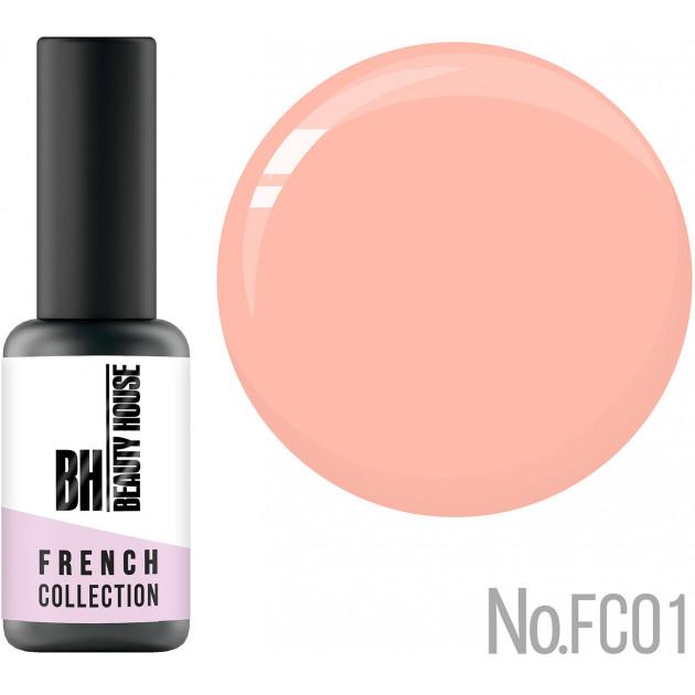 Гель-лак 8 мл, Beauty House French Collection Gel Polish FC01