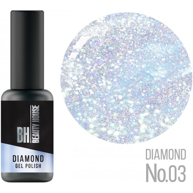 Гель-лак №03 8 мл, Beauty House Diamond Gel Polish