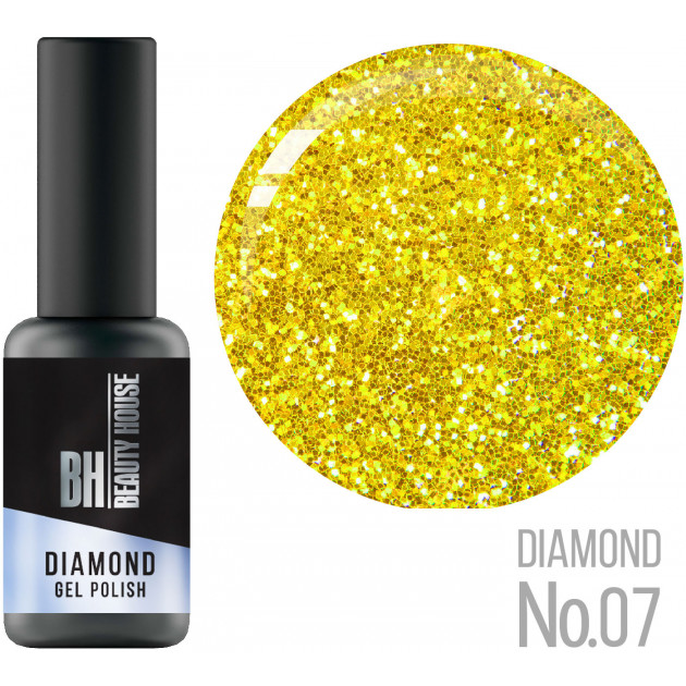 Гель-лак №07 8 мл, Beauty House Diamond Gel Polish