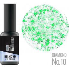 Гель-лак №10 8 мл, Beauty House Diamond Gel Polish