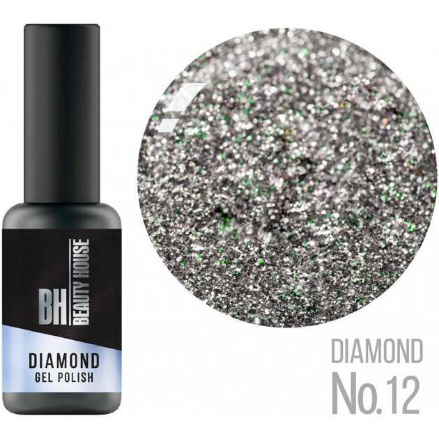 Гель-лак №12 8 мл, Beauty House Diamond Gel Polish