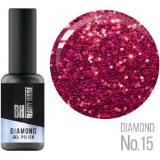 Гель-лак №15 8 мл, Beauty House Diamond Gel Polish