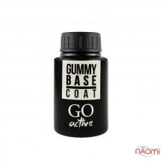 Каучуковая база под гель-лак 30 мл,GO Active Gummy Base Coat