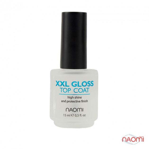 """Средство по уходу за ногтями """"Мега-блеск"""" 15 мл, Naomi"""