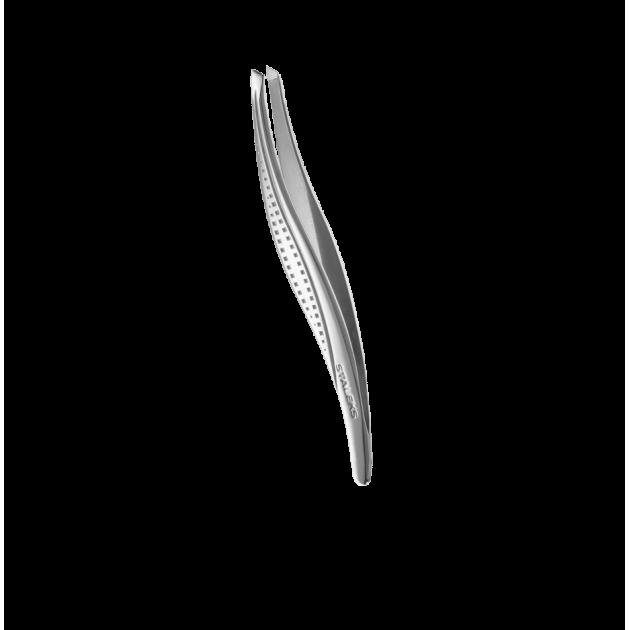 Пинцет для бровей (широкие скошенные кромки) TC-12/3, Staleks