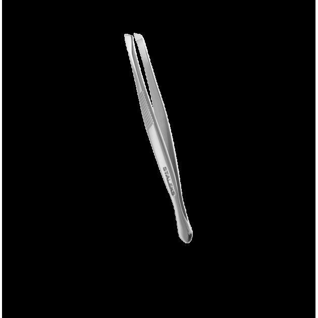 Пинцет для бровей  (широкие скошенные кромки) TC-10/3, Staleks