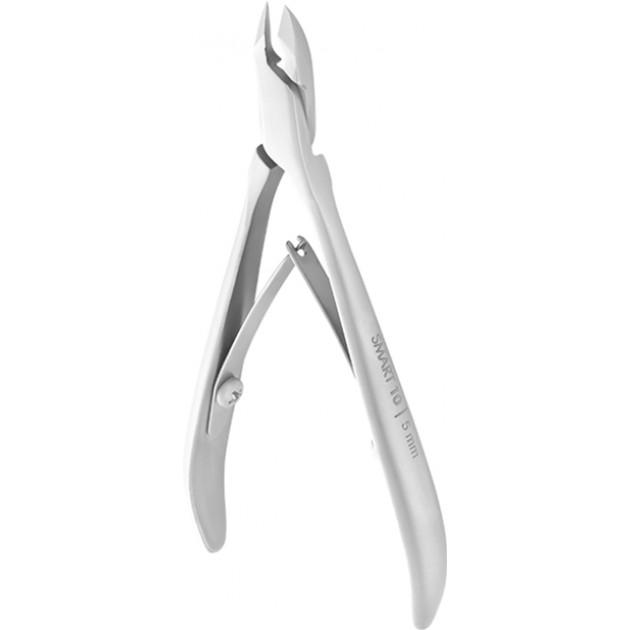 Кусачки профессиональные для кожи SMART 10 5 мм (NS-10-5) Staleks Pro