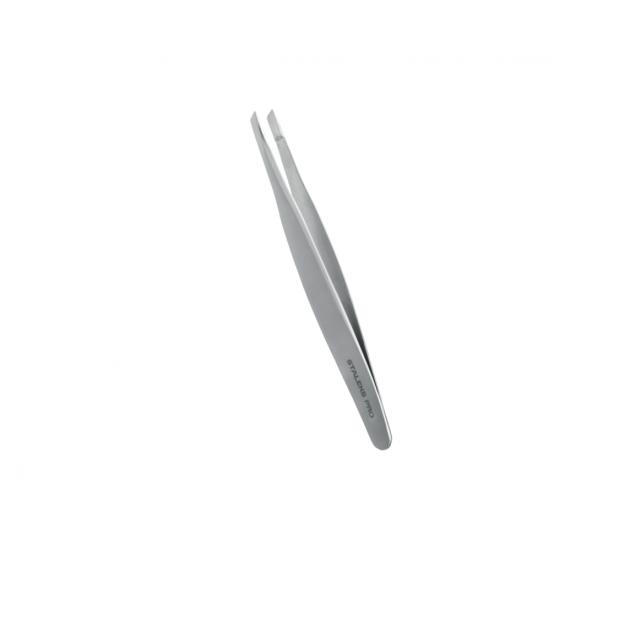 Пинцет для бровей EXPERT 20 TYPE 4 TE-20/4 (узкие скошенные кромки) Staleks Pro