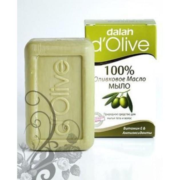 Натуральное мыло 100% оливковое масло 150 г, Dalan d'Olive