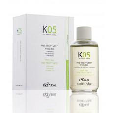 Капли предварительного лечения 50 мл, Kaaral K05 Pre Treatment Drops