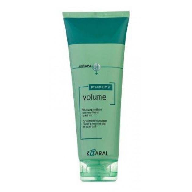 Крем-кондиционер для тонких волос с маслом лимнантеса 250 мл, Kaaral Purify Volume Conditioner