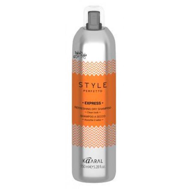 Сухой шампунь 150 мл, Kaaral Express Refreshing Dry Shampoo