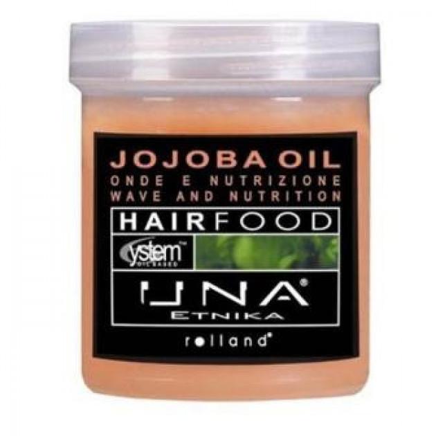 Маска для облегчения расчесывания волос с маслом жожоба 1000 мл, Rolland Una Hair Food Jojoba Oil Hair Treatme