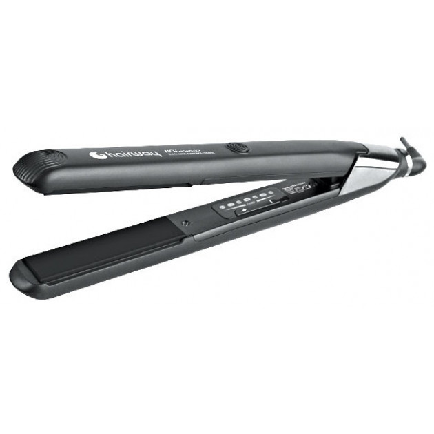 Утюжок для волос Hairway Black Nano Diamonds Ceramic MCH Technology 04104