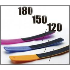 Набор пилок для ногтей (пластиковые, 3 шт.) 120/150/180, Staleks