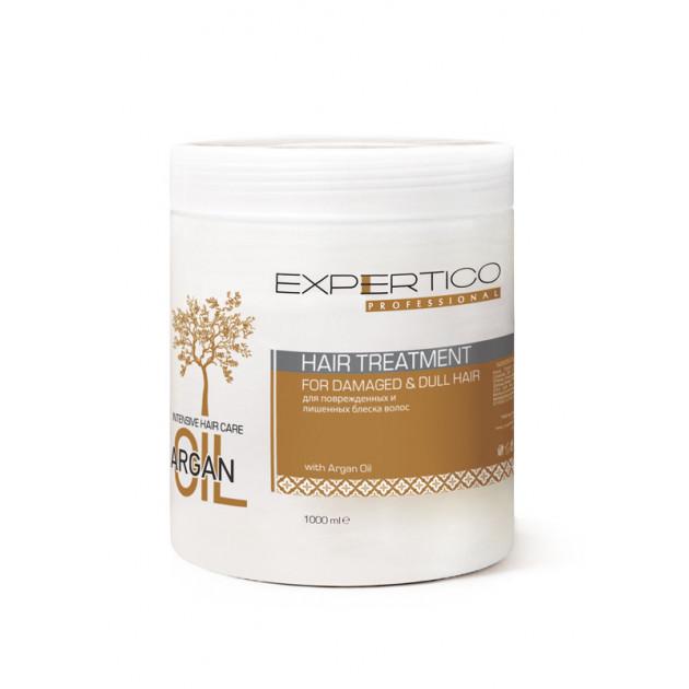 Интенсивный уход для волос с аргановым маслом 1000 мл, Expertico