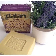Натуральное оливковое мыло Лаванда Antique Lavander 150 г, Dalan d'Olive