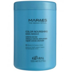 Питательная маска для окрашенных волос 1000 мл, Kaaral Maraes Color Nourishing Mask