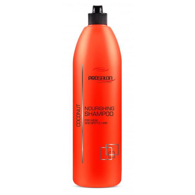"""Питательный шампунь """"Кокос"""" 1000 мл, Prosalon Hair Care Shampoo"""
