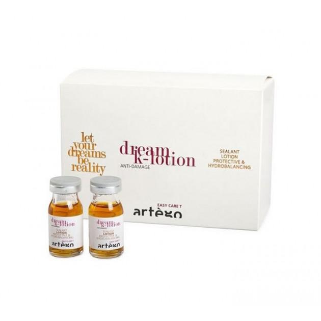 Кератиновые ампулы для глубокого восстановления волос Artego Dream Anti-Damage 12*8 мл