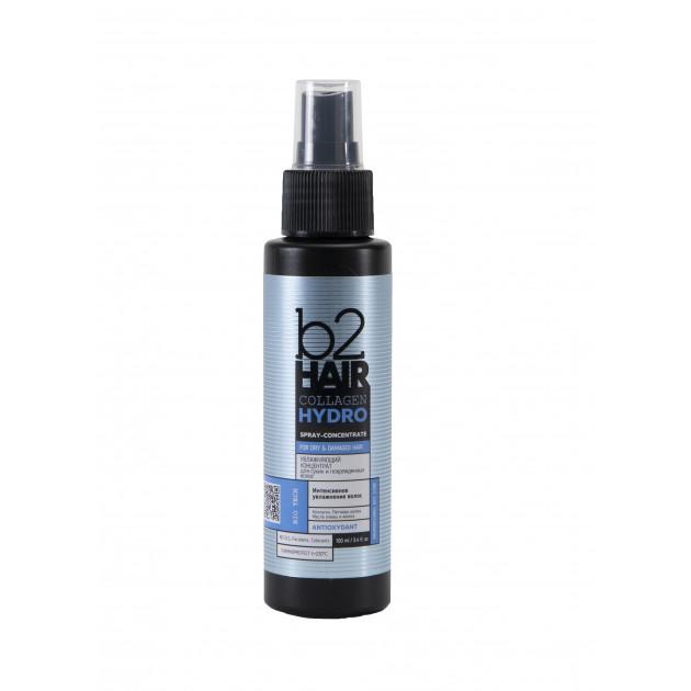 Увлажняющий спрей-концентрат для сухих и поврежденных волос B2Hair Collagen Hydro Elixir 100 мл
