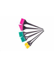 Набор силиконовых кисточек для окрашивания 6 шт (Н66), BaiHe
