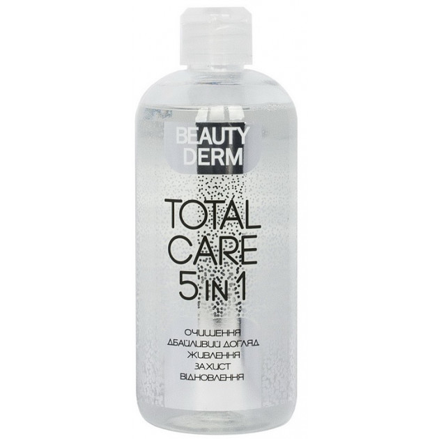 Мицеллярная вода Total Care 5 в 1 500 мл, Beauty Derm