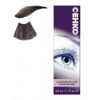Краска для бровей и ресниц графит60 мл, C:EHKO
