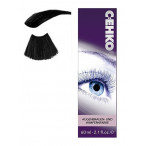 Краска для бровей и ресниц графит черная60 мл, C:EHKO