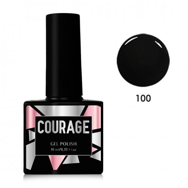 Гель-лак для ногтей №100 Courage 10 мл