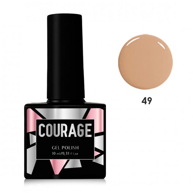 Гель-лак для ногтей №49 Courage 10 мл