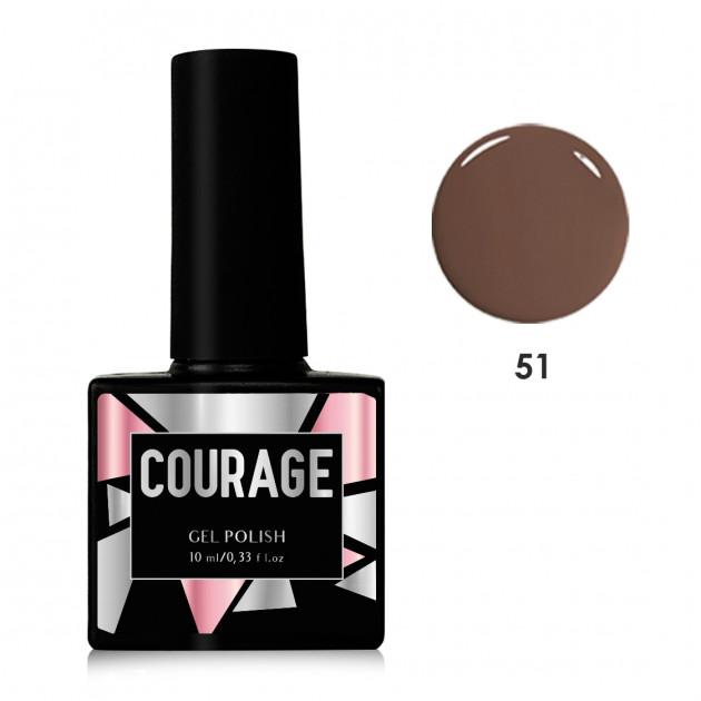 Гель-лак для ногтей №51 Courage 10 мл