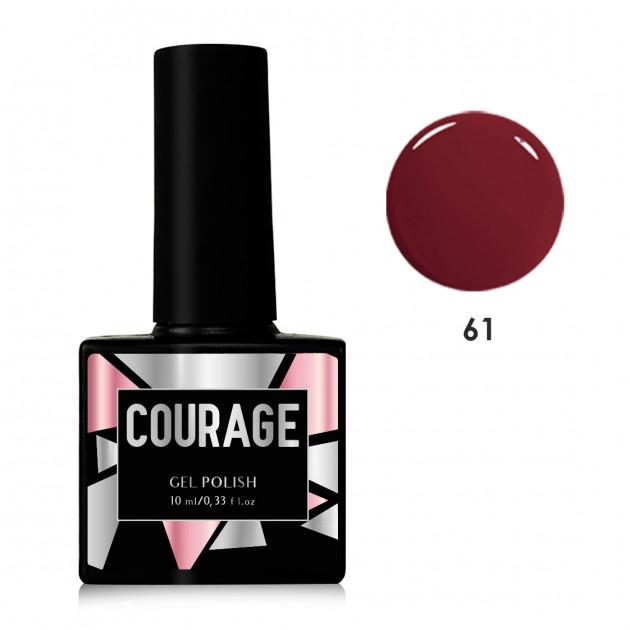 Гель-лак для ногтей №61 Courage 10 мл
