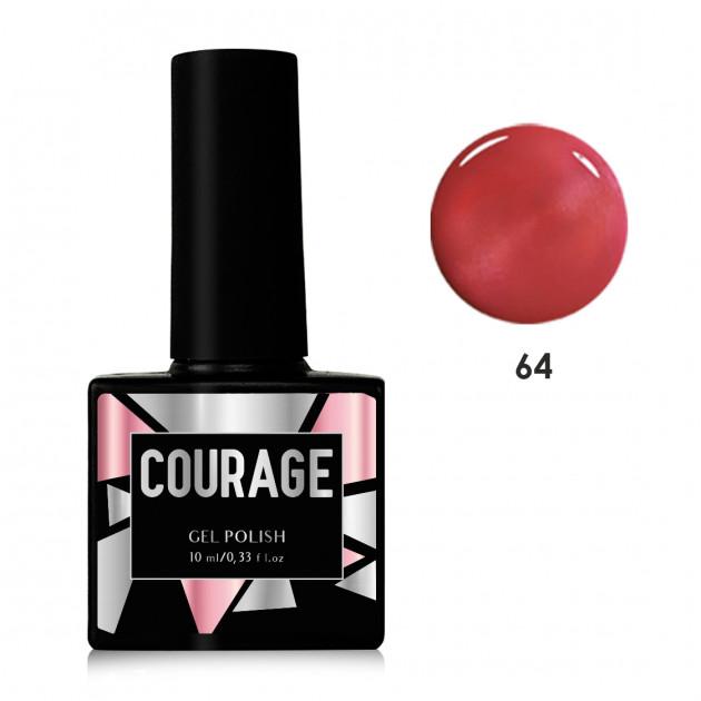 Гель-лак для ногтей №64 Courage 10 мл