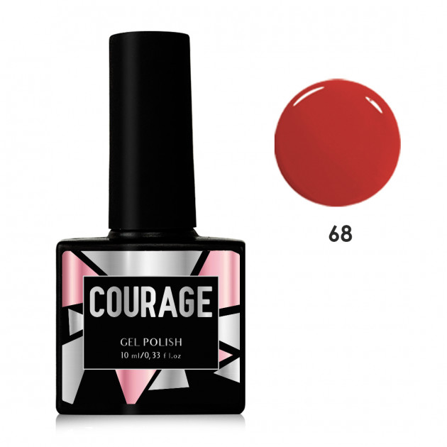 Гель-лак для ногтей №68 Courage 10 мл