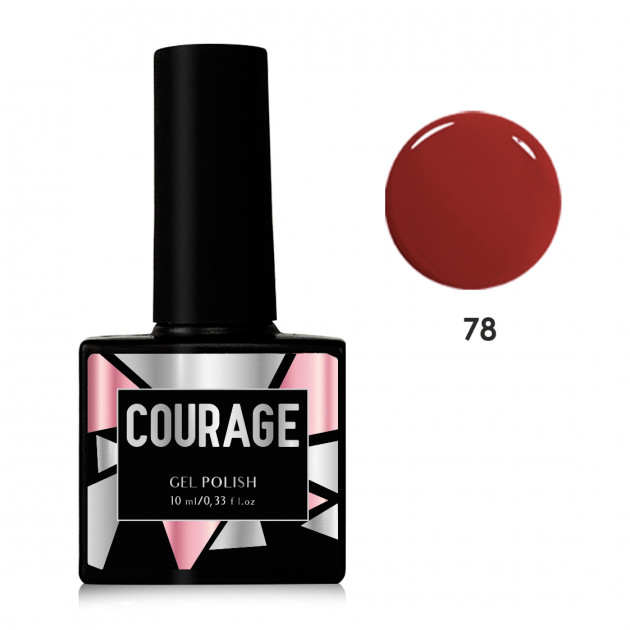 Гель-лак для ногтей №78 Courage 10 мл