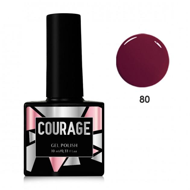 Гель-лак для ногтей №80 Courage 10 мл