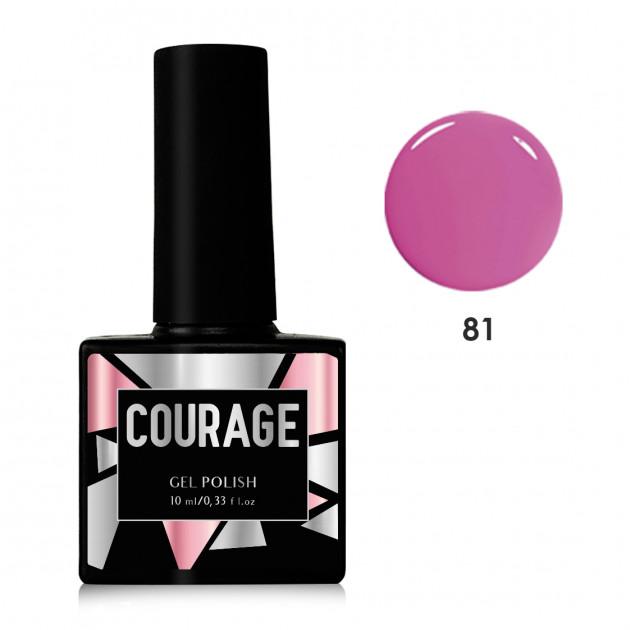 Гель-лак для ногтей №81 Courage 10 мл