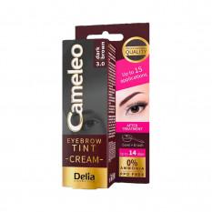 Крем-краска для бровей 3.0 темно-коричневая Delia Cosmetics Cameleo 15 мл