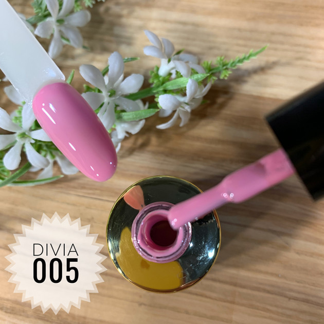 Гель-лак для ногтей Colour Di100 №005 Divia 8 мл