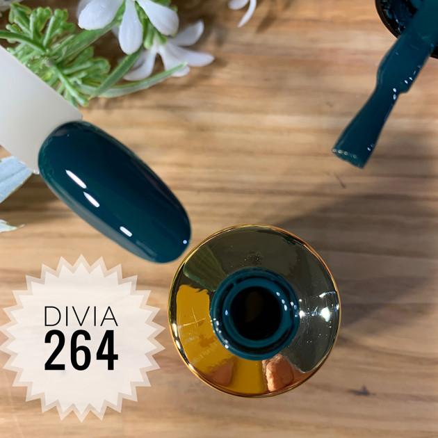 Гель-лак для ногтей Colour Di100 №264 Divia 8 мл