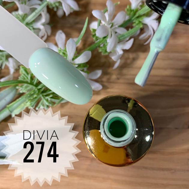 Гель-лак для ногтей Colour Di100 №274 Divia 8 мл