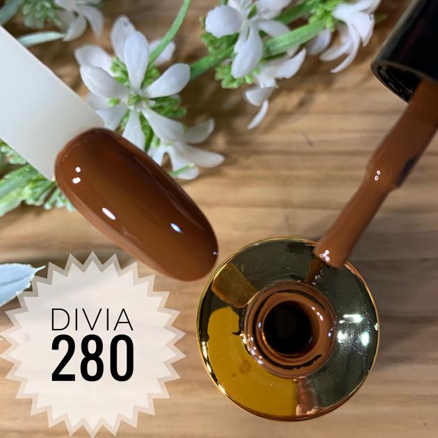 Гель-лак для ногтей Colour Di100 №280 Divia 8 мл