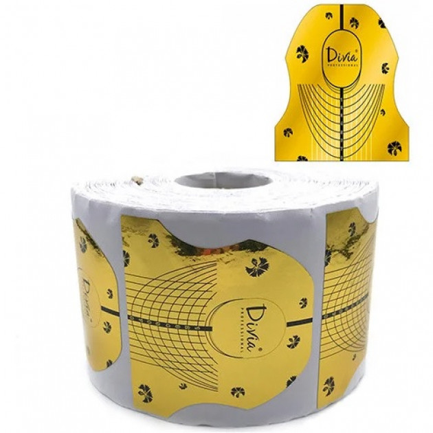 Форма для наращивания ногтей Di964 (500 шт / рул) Divia